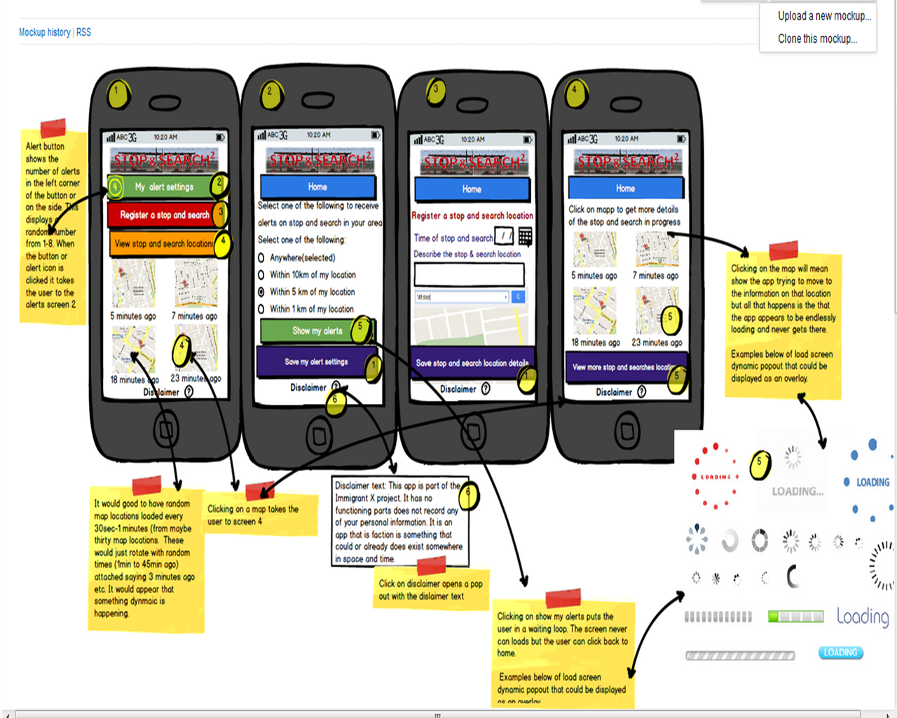 Stop and Search Squared mobile app